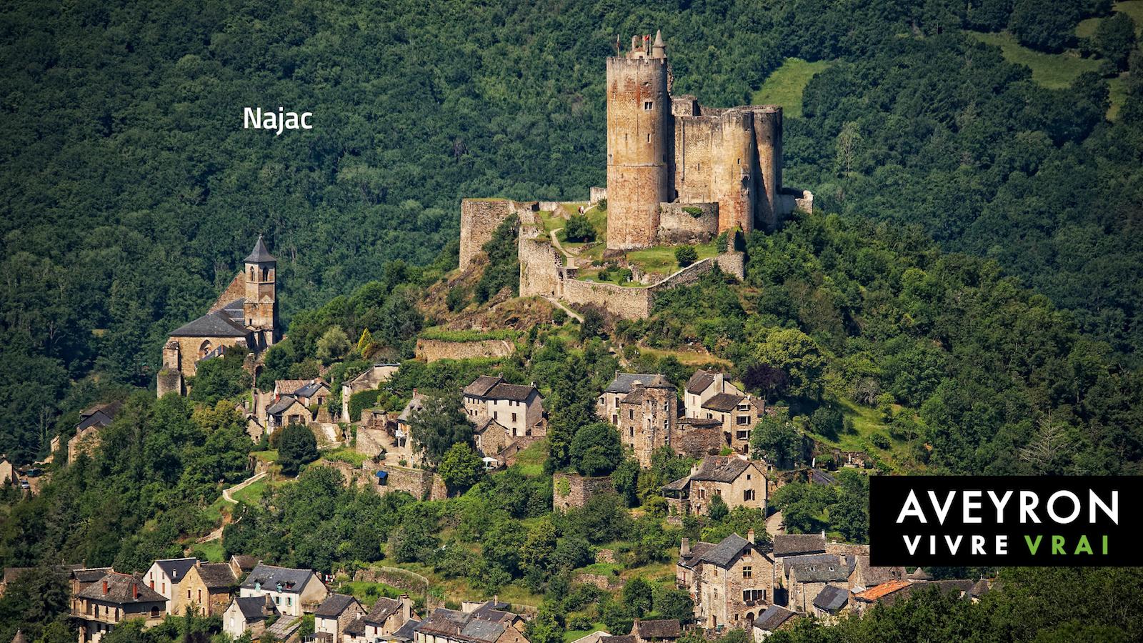 Najac Segala Aveyron Occitanie Le Muret